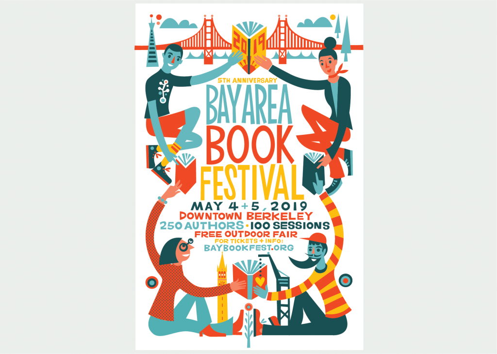 Meet PLP at the Bay Area Book Fest (or volunteer